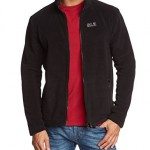 Jack Wolfskin Herren Fleecejacke Thunder Bay Men, Black, L, 1701352-6000004
