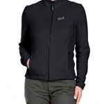Jack Wolfskin Damen Fleece Jacke Moonrise Jacket, Black, L, 1701781-6000004