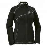 Jack Wolfskin Damen Fleecejacke Inari Jacket Women, Black, XL, 1702111-6000005