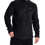 Jack Wolfskin Herren Fleece Jacke Thunder Bay Jacket, Black, S, 1702931-6000002